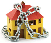 house in chains