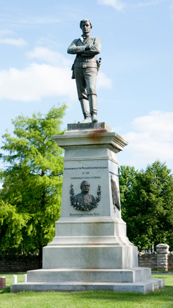 Image result for Confederate statue Springfield MO cemetery